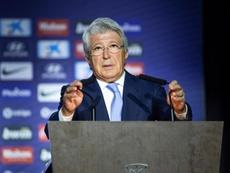 Cerezo spoke about Ronaldo's visit and Griezmann's sanction. EFE