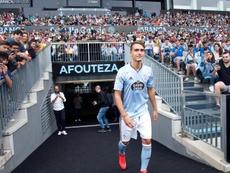 Denis Suárez a évoqué un possiible transfert de Nolito. EFE