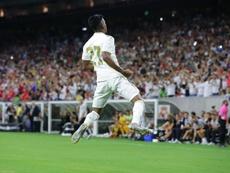 Rodrygo ya se siente alguien importante con Brasil. EFE