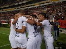 Míchel y sus Pumas no encuentran rival en Necaxa. EFE