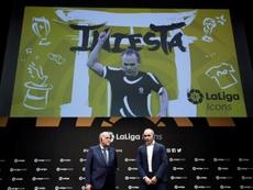 Iniesta alabó a Neymar y dio el visto bueno a Griezmann. EFE