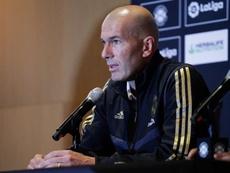 Zinedine Zidane habló de la ausencia de Gareth Bale en la Audi Cup. EFE