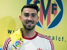 Moi Gómez recordó sus inicios en el Villarrea. EFE