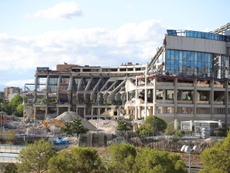 The Vicente Calderón is about to be demolished. EFE