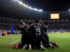 Emelec se seca las lágrimas de la Libertadores. EFE/YuriEdmundo/Archivo