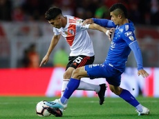 El PSG tiene a dos jugadores de River en su agenda. EFE/Juan Ignacio Ronconi