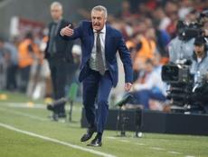 Alfaro analizó el triunfo ante Estudiantes. EFE