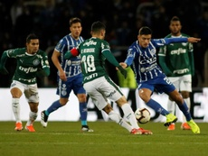 Aficionados de Palmeiras agreden a la esposa de Bruno Henrique. EFE