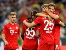 El Bayern ha goleado sin piedad al Fenerbahçe. EFE