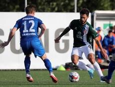 Ferreyra, Javi Lopez y Naldo vuelven a la lista del Espanyol. EFE/Carlos Mira