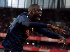 Diakhaby puede redimirse de su partido ante el Lille. EFE