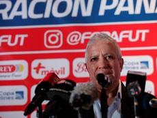 Américo Gallego dio su primera lista con Panamá. EFE/Bienvenido Velasco