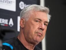Ancelotti dejará de ser entrenador del Nápoles. EFE