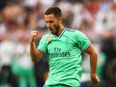 Hazard le da alas al Madrid. EFE