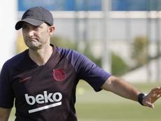 A Valverde le entran las dudas. EFE