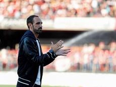 El Atlético ya prepara el homenaje a Juanfran. EFE