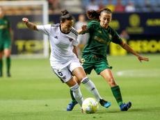 Marta Perea cumplirá siete temporadas con el Athletic. EFE