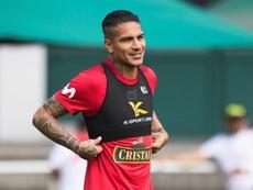 Las palabras de Guerrero con las que 'jugueteó' con Boca. EFE/DANIEL KOPATSCH
