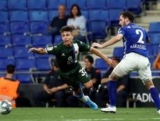 Nico Melamed ya ha debutado en Europa League. EFE