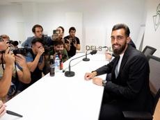 Borja Iglesias solo piensa en volver a jugar. EFE/Pepo Herrera