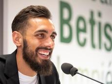 Borja Iglesias, en la prelista para ir convocado por la Selección. EFE