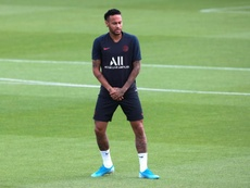 It remains to be seen whether Neymar plays against Rennes. EFE