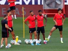 Les absents de l'Atlético Madrid avant la Ligue des champions. EFE