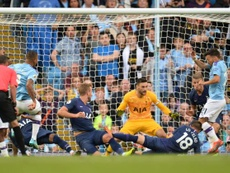El City se estrella ante el Tottenham. EFE