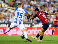 El Leganés cayó ante Osasuna en la primera jornada. EFE
