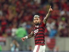 Transação de Gabigol gera cobrança santista de 600 mil euros ao Flamengo. EFE/Marcelo Sayão/Arquivo