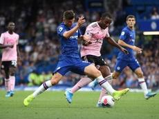El Chelsea de Lampard aún no sabe lo que es ganar esta temporada. EFE/EPA