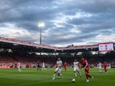 El RB Leipzig salió vencedor de Berlín. EFE/EPA/FilipSinger