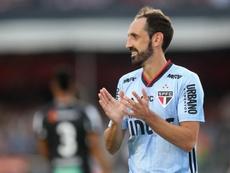 Juanfran no olvida al Atlético de Madrid. EFE