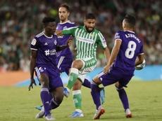El Betis no pudo evitar caer ante el Valladolid. EFE