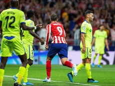 Alvaro Morata scored the only goal of the game in Atletico's win over Getafe. EFE