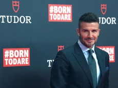 L'ex United e Real Madrid Beckham. EFE