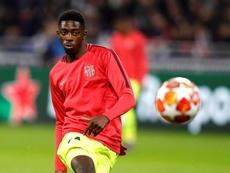 Rivaldo espère que le club va sanctionner Dembélé. EFE