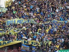 Las razones de la crítica de la hinchada de Boca hacia el polémico spot. EFE/JoseJacome