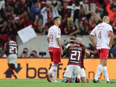 A falta de Gabigol, bueno es Bruno Henrique. EFE