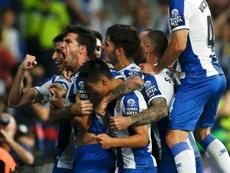 El Espanyol se impuso al Zorya por 3-1. AFP