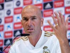 Zidane ha parlato in conferenza stampa. EFE