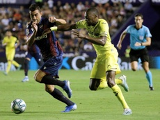 Al Villarreal se le vuelve a atragantar el arranque. EFE