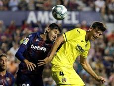 El Villarreal ha comenzado muy frágil atrás. EFE