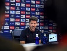 Simeone habló sobre Correa y la actualidad del mercado. EFE/Fernando Villar