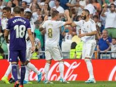 Un 'déjà vu' en el Bernabéu. EFE/Rodrigo Jiménez