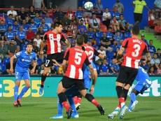 Reparto de puntos para Getafe y Athletic. EFE