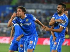 Jaime Mata quiere hacer goles para volver a la Selección. EFE/Fernando Villar
