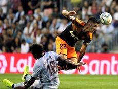 Maxi Gómez se ha adueñado del puesto de '9'. EFE /Salvador Sas