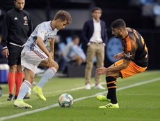 El Celta ganó sus primeros tres puntos de la temporada. EFE