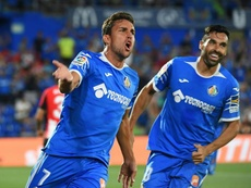 Jaime Mata fichó por el Getafe tras su buen hacer en Segunda. EFE